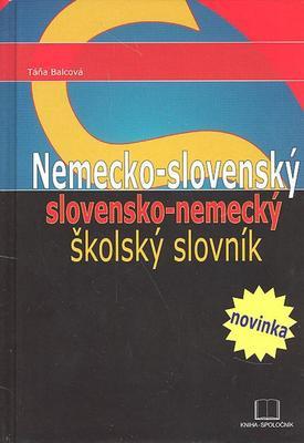 Obrázok Nemecko - slovenský slovensko - nemecký školský slovník
