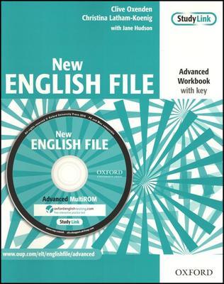 Obrázok New English File Advanced Workbook with key
