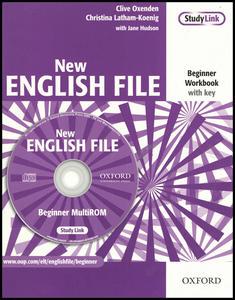 Obrázok New English File Beginner Workbook with key + CD-ROM