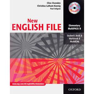 Obrázok New English File Elementary Multipack B