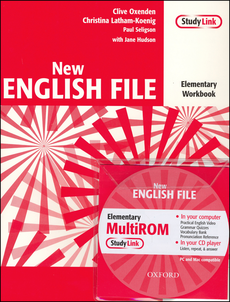 New English file elementary Workbook Key + CD ROM pack - Paul Seligson, Christina Latham-Koenig, Clive Oxenden