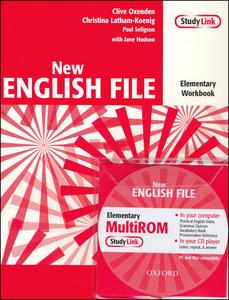 Obrázok New English file elementary Workbook Key + CD ROM pack