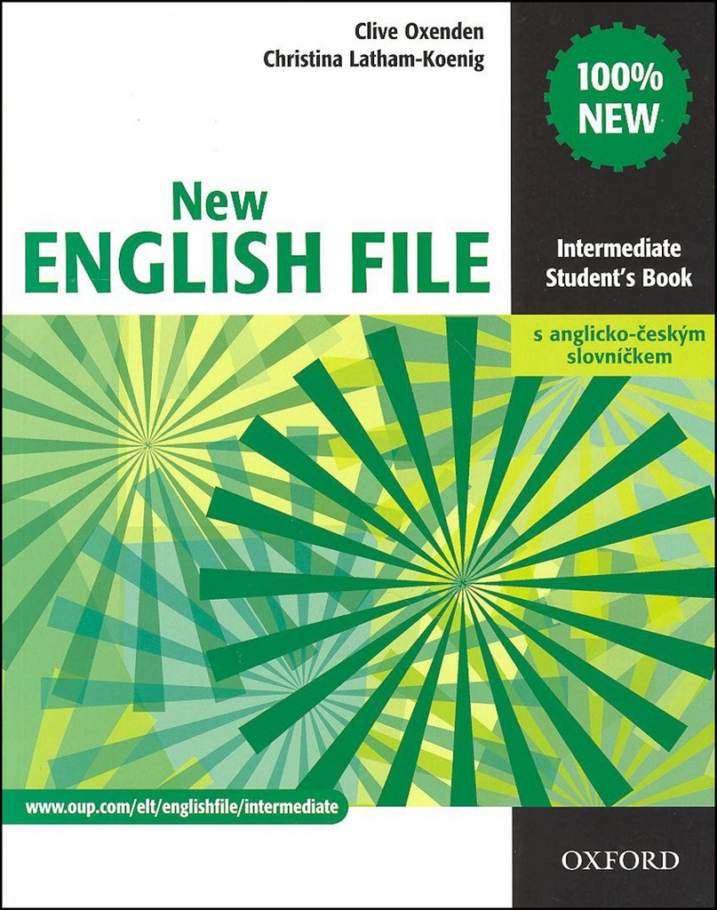 New English file Intermediate Student´s book + Czech wordlist - Christina Latham-Koenig, Clive Oxenden