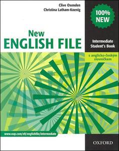 Obrázok New English file Intermediate Student´s book + Czech wordlist