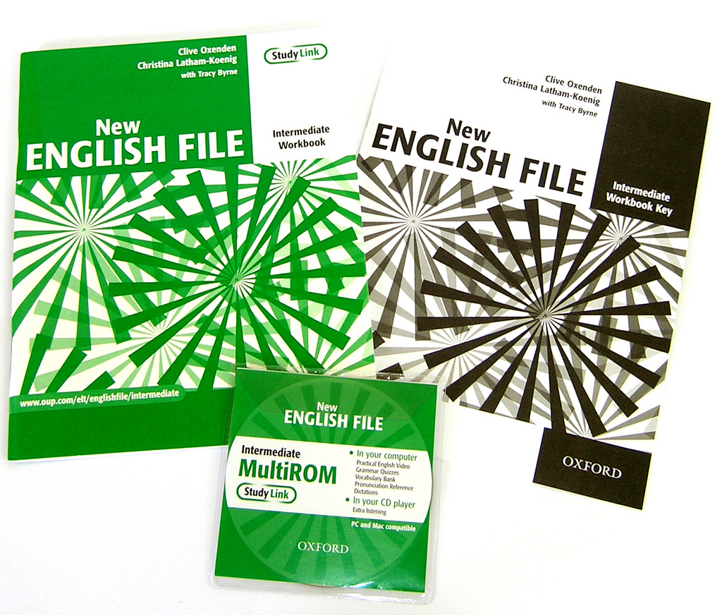 New English file intermediate Workbook key + CD-ROM pack - Clive Oxenden, Christina Latham-Koenig