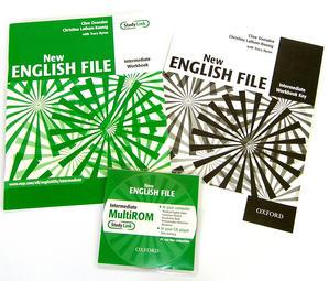 Obrázok New English file intermediate Workbook key + CD-ROM pack