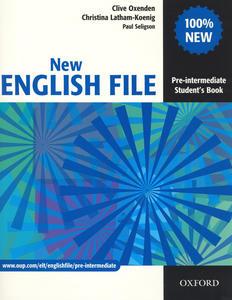 Obrázok New English file Pre-intermediate Studenťs Book