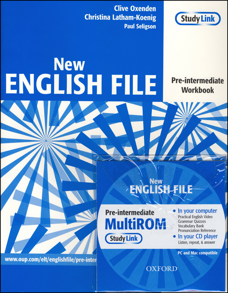 New English file Pre-intermediate Workbook + CD ROM pack - Paul Seligson, Christina Latham-Koenig, Clive Oxenden