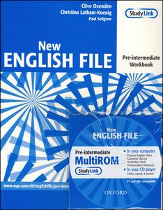 Obrázok New English file Pre-intermediate Workbook + CD ROM pack