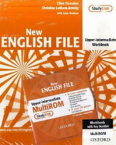 Obrázok New English File Upper-intermediate Workbook