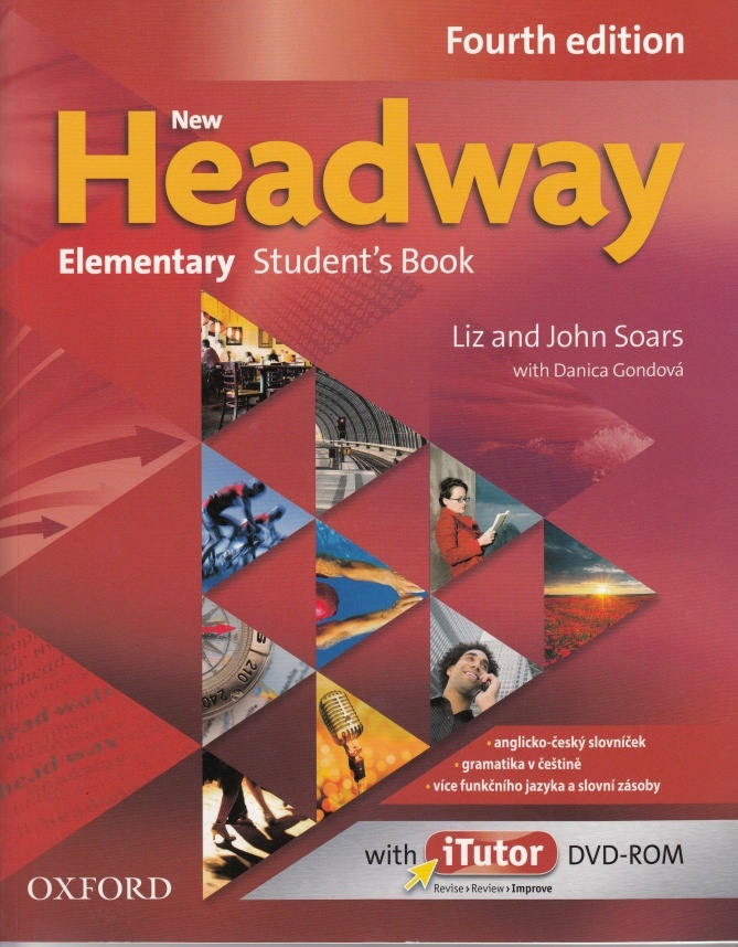 New Headway Elementary Student's Book Czech Edition + DVD