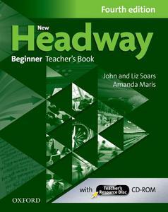 Obrázok New Headway Fourth edition Beginner Teacher´s Book with Teacher´s resource disc