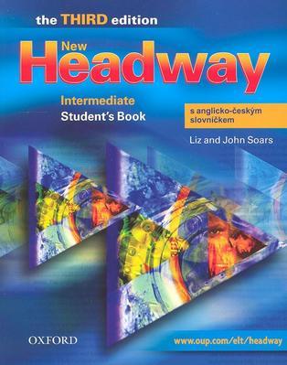 Obrázok New Headway Intermediate Student´s Book s anglicko-českým slovníčkem