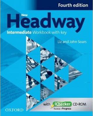 Obrázok New Headway Intermediate Workbook with Key Fourth Edition + iChecker CD-rom