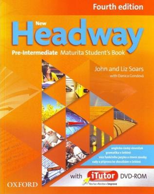Obrázok New Headway Pre-Intermediate Maturita Fourth Edition Student´s Book + iTutor DVD