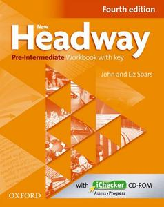 Obrázok New Headway Pre-Intermediate Workbook Fourth Edition with Key + iChecker CD-rom