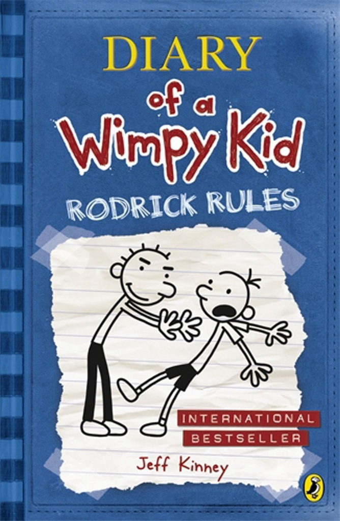 Diary of a Wimpy Kid book 2 - Jeff Kinney