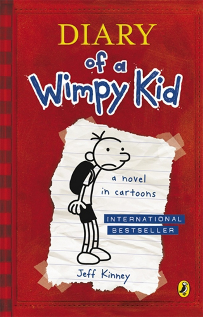 Diary of a Wimpy Kid book 1 - Jeff Kinney
