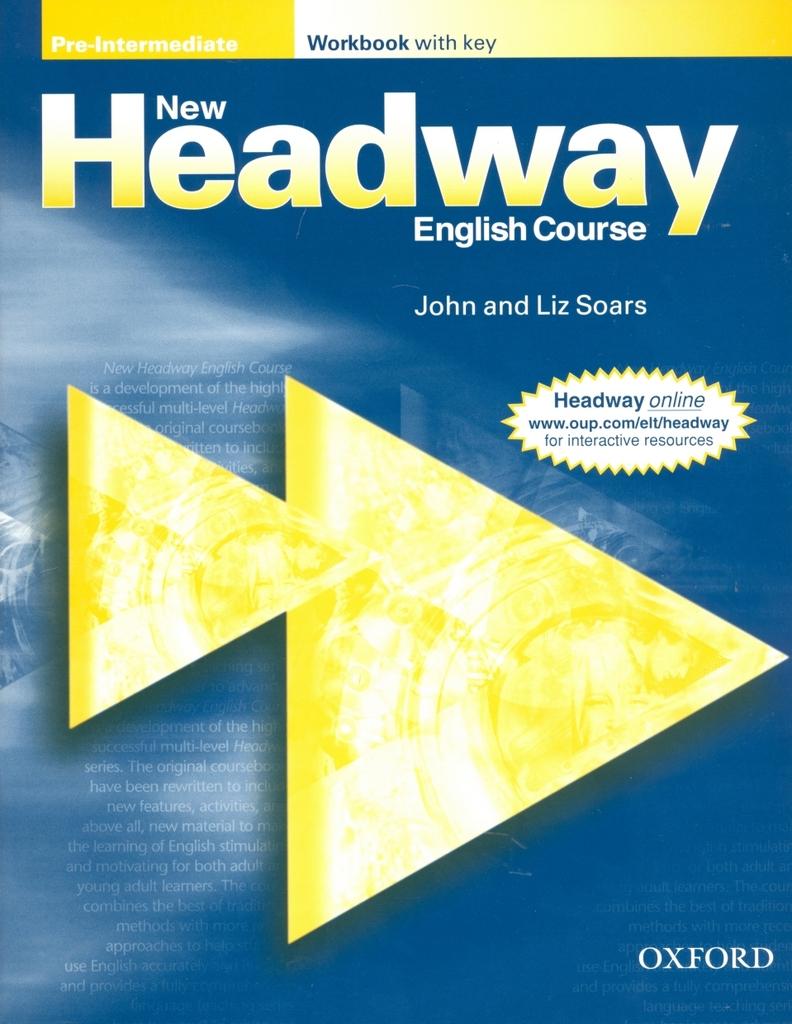New Headway Pre-Intermediate Workbook with Key - John a Liz Soars