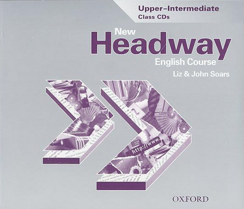 New Headway Upper-Intermediate Class 3xCD - John a Liz Soars