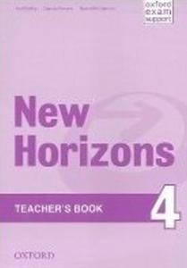 Obrázok New Horizons 4 Teachers's Book