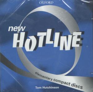 Obrázok New hotline elementary class audio CDs 2