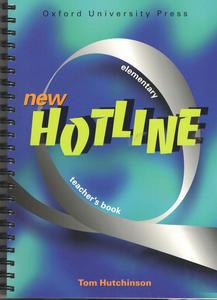 Obrázok New hotline elementary Teacher´s book