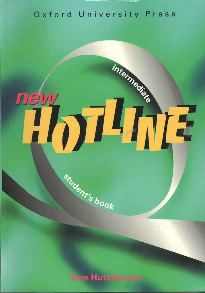 New hotline intermediate Student´s book - Tom Hutchinson