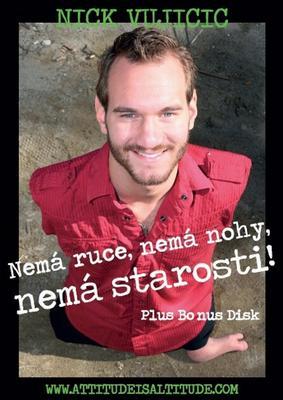 Obrázok Nick Vujicic Nemá ruce, nemá nohy, nemá starosti!