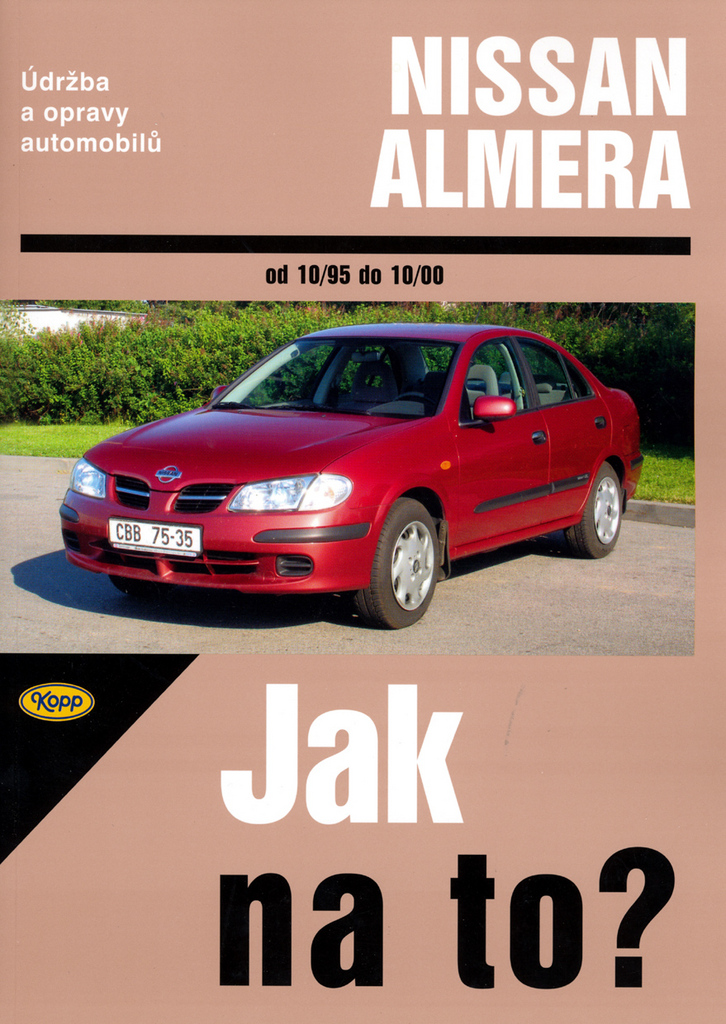 Nissan Almera od 10/1995 do 10/2000 č.81 - John S. Mead