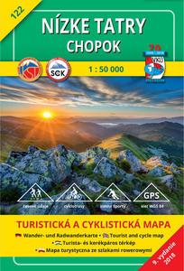 Obrázok Nízke Tatry Chopok 1 : 50 000