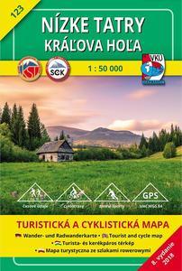 Obrázok Nízke Tatry, Kráľova Hoľa 1 : 50 000