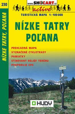 Nízké Tatry, Poľana 1:100 000