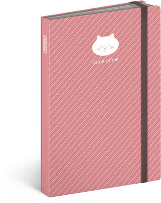 Obrázok Notes s gumičkou Kočka