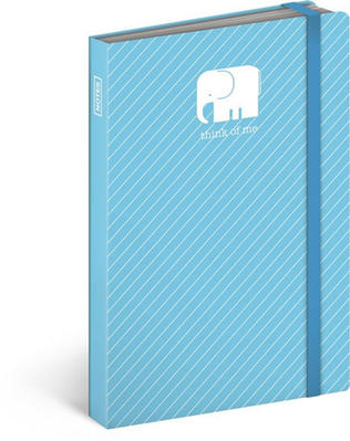 Obrázok Notes s gumičkou Slon