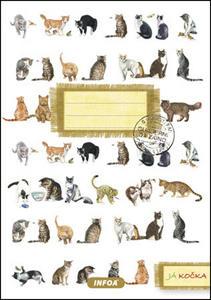 Obrázok Notýsek Já kočka