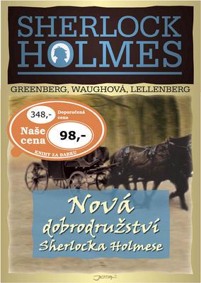 Obrázok Nová dobrodružství Sherlocka Holmese