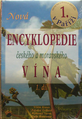 Obrázok Nová encyklopedie českého a moravského vína 1.díl