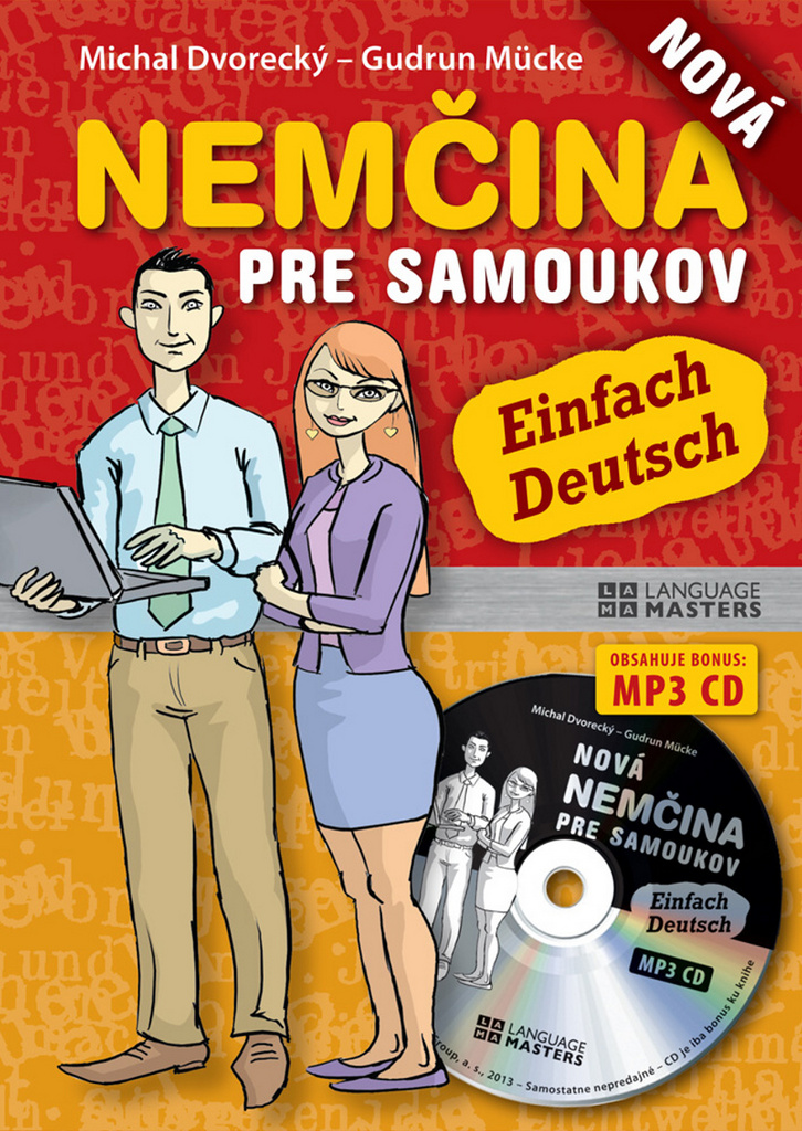 Nová nemčina pre samoukov + CD - Michal Dvorecký, Gudrun Mücke