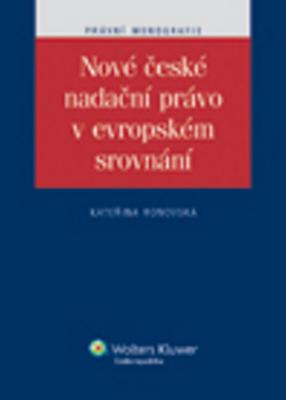 Obrázok Nové české nadační právo v evropském srovnání