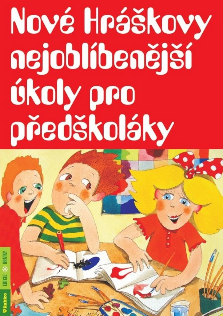 Nové Hráškovy nejoblíbenější úkoly pro předškoláky - Taťána Vargová