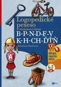 Obrázok Logopedické pexeso B-P-N-D-F-V-K-H-CH-ĎŤŇ