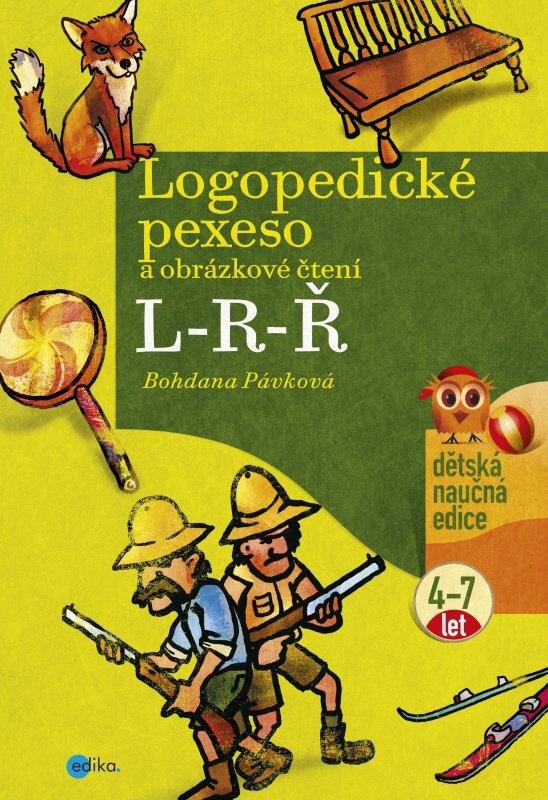 Logopedické pexeso L-R-Ř - Bohdana Pávková