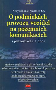 Obrázok Nový zákon č.56/2001 Sb.