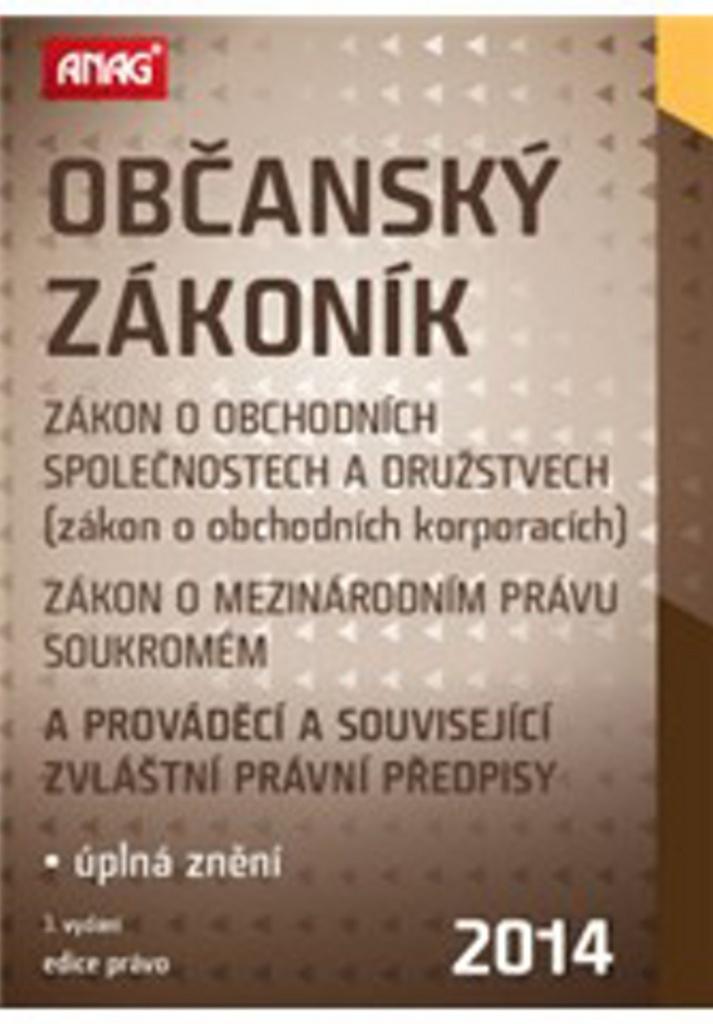 Občanský zákoník 2014