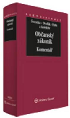 Obrázok Občanský zákoník Komentář (Svazek I)