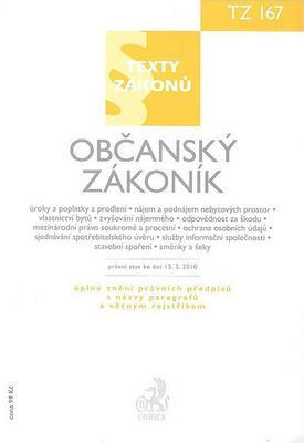 Obrázok Občanský zákoník, právní stav ke dni 15. 3. 2010