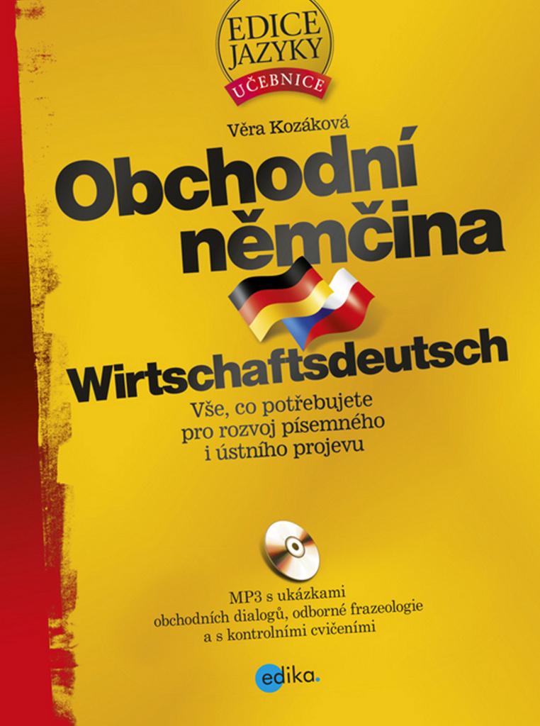 Obchodní němčina + CD - Věra Kozáková