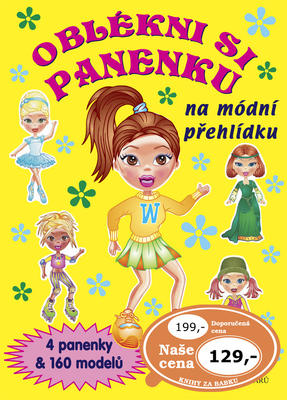 Obrázok Oblékni si panenku na módní přehlídku
