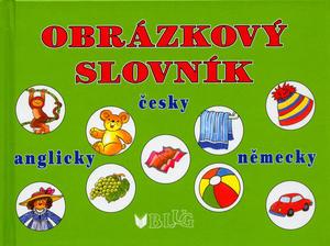 Obrázok Obrázkový slovník česky anglicky německy